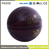 Baloncesto laminado oscuro durable de Brown