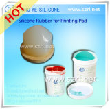 Eco-Friendly Silicone Rubber for Pad Printing Similaire à Wacker 623
