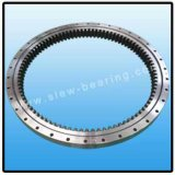 Кольцо Slewing шарика Одиночн-Рядка зубчатого колеса наружного зацепления, подшипник VSU-200414 Slewing