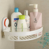 Silicone Rubber Suction Cup를 가진 ABS Triangle Bathroom Storage Rack