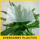 Feuille ondulée de plastiques de feuille creuse de polypropylène