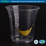 Disposable desobstruído Plastic Cup para Beverage