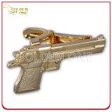 Clip di legame molle placcata oro resa personale del metallo dello smalto
