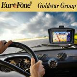 """Goldstar 4.3 """" CE/RoHS 증명서를 가진 Moto 차 항법 GPS"""