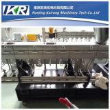 Estiradores de tornillo gemelos para el llenador plástico Masterbatch del CaC03/del talco que hace el equipo de la granulación de Masterbatch del llenador de la máquina