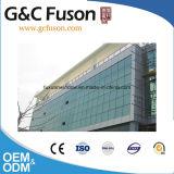 Muren van het Glas van de Bouw van de Gordijngevels van het Glas Frameless van het Aluminium van China de Structurele Buiten