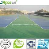 Sport rispettosi dell'ambiente che pavimentano per la pallavolo