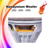 2262HPL Haut-parleur de haut-parleur Woofer en forme de caisse en aluminium HiFi de 12 cm