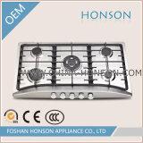 熱い販売のガスのCooktop 5バーナーのガスの歯切り工具HS5818