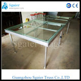 휴대용 Stage Platform, Glass Mobile Stage, Sale를 위한 Glass Wedding Stage