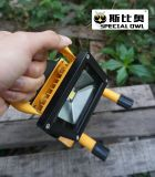 10W COB Super Bright LED Flood Light, Work Light, Rechargeable, Outdoor Portable, Flood 또는 Project Lamp, IP67