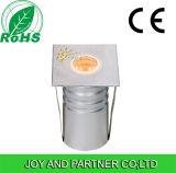Cuadrado de 3W LED tricolor metro de la cubierta de luz (JP82016S)