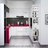 La última cabina de cocina de la laca de la alta calidad del precio