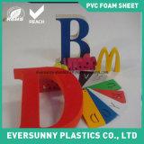 Hoja de alta densidad de la espuma del PVC, negro de la hoja del PVC, tarjeta de la espuma del PVC