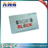 RFIDのスマートカードの保護装置の高い安全性を妨げる印刷された札入れ