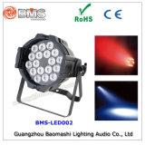 18X8w 4in 1개의 LED 알루미늄 동위 빛