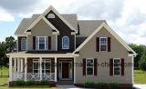 Diseño bien y casa prefabricada durable del chalet de la estructura de acero