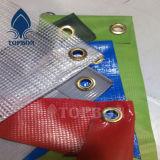 Tela incatramata rivestita dei tessuti del PVC di vendite calde per le tende