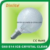 G60氷の透明な白熱球根
