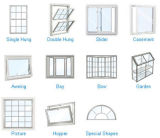 Guichet en verre coulissant d'aluminium de bonne qualité/en aluminium de tissu pour rideaux de ceinture