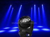19PC 12W RGBW bewegliches Summen-Träger-Licht des Kopf-LED