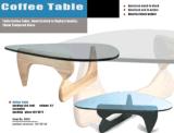 Cadeira e tabela da madeira compensada de Eames