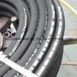 Boyau en caoutchouc hydraulique flexible de pétrole à haute pression spiralé d'En853-2sn