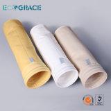 Sacchetto filtro resistente al fuoco eccellente del tessuto di PPS per uso chimico di stato di corrosione