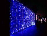 装飾LEDの滝の休日の祝祭ライト