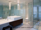 6mm 8mm 10mmの12mm明確な緩和された浴室ガラス