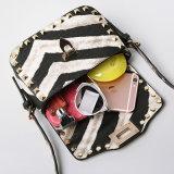 새로운 형식 얼룩말은 인쇄한다 어깨에 매는 가방을 리베트 소형 핸드백 (A070-1)