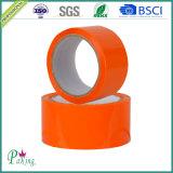 Couleur orange populaire BOPP bourrant le ruban adhésif