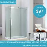 Casa impermeable de aluminio de la ducha de la barra del hardware del acero inoxidable (SE717K)