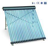 250L acero inoxidable presurizado tipo U colector solar con Keymark Solar
