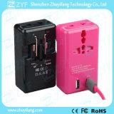 Parete doppia del USB 2-Port 5V 2A di corsa/adattatore domestico del caricatore (ZYF9025)