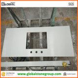 Vanità bianca artificiale del quarzo per sourcing dell'hotel/appaltatore della mobilia