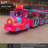 Tren sin rieles miniatura eléctrico de la diversión de Fwulong