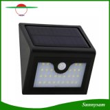 Brand New 28 LED Solar Light Outdoor Infrared Sensor de Movimento Lâmpada de parede Waterproof Intelligent Safety LED Sensor Light