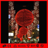 Natale Outdoor LED Decoration Snowflake 3D Motif Ball