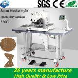 Máquina de costura computarizada irmão do ponto de couro industrial do fechamento do teste padrão de Embrodiery