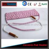 Venda quente calefator cerâmico longo personalizado da almofada da vida ativa