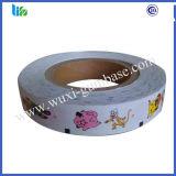 Papier adhésif imperméable à l'eau de tatouage de bubble-gum dans une Rolls