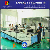 un laser Cutting Machine di 4015 500W Exchange Table Fiber