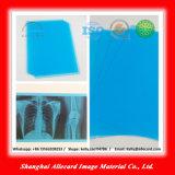Película médica del azul de la inyección de tinta del animal doméstico de la radiografía