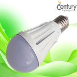 ampoule d'intérieur de la lampe LED d'ampoule de l'éclairage LED d'ampoule de globe de 6W E26/E27/B22 Epistar SMD2835 LED