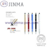Пер Jm-3006 металла подарков промотирования горячее с одним касанием Stylus