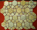 طبيعيّ حجارة شبكة فسيفساء أردواز لأنّ [ولّينغ]/أرضية/زخرفة