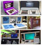 AC/Battery Frameless приведенное в действие пакетом видео-плейер магазина розничной торговли 7 дюймов