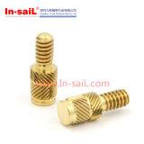 中国の製造業者の軽合金の黄銅によって通されるスタッド