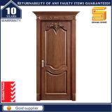 Solide en bois MDF Intérieur placage de bois PVC Chambre Panneau de porte